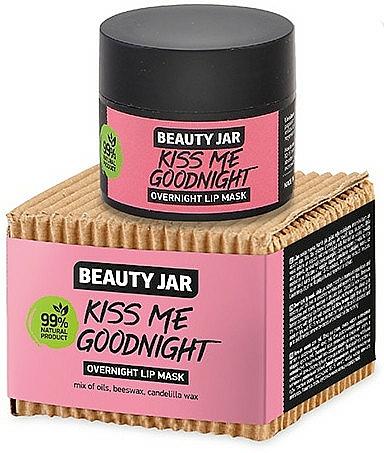 Mascarilla labial con cera de abeja y candelilla - Beauty Jar Kiss Me Goodnight Overnight Lip Mask