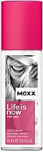 Perfumería y cosmética Mexx Life is Now for Her - Desodorante perfumado