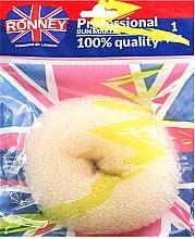 Perfumería y cosmética Esponja de moño, beige - Ronney Professional Bun Maker