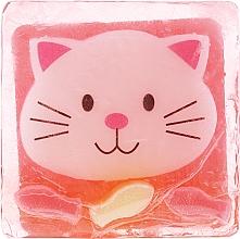 Perfumería y cosmética Jabón infantil de glicerina con aroma a helado de fresa, gatito - Chlapu Chlap Glycerine Soap