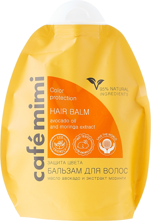 Acondicionador protección del color con aceite de aguacate y extracto de moringa - Le Cafe de Beaute Cafe Mimi Hair Balm