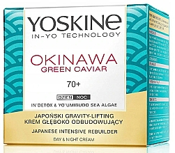 Perfumería y cosmética Crema facial profundamente regeneradora día + noche con caviar verde - Yoskine Okinawa Green Caviar 70+