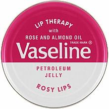 Perfumería y cosmética Vaselina con rosa y aceite de almendras - Vaseline Lip Therapy Rosy Lips Balm