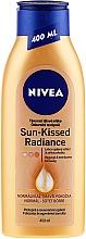 Perfumería y cosmética Loción corporal autobronceadora con extracto de ginkgo biloba - Nivea Body Nivea Bronze Effect Dark