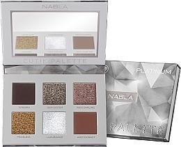 Perfumería y cosmética Paleta de sombras de ojos - Nabla Cutie Collection Palette Platinum