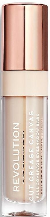 Base de sombra de ojos - Makeup Revolution Cut Crease Canvas