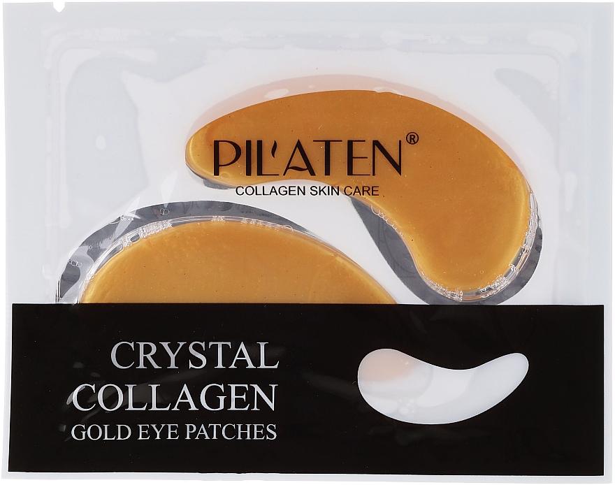 Parches para contorno de ojos con colágeno - Pilaten Crystal Collagen Gold Eye Mask