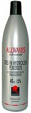 Perfumería y cosmética Crema oxidante profesional 40 vol. 12% - Allwaves Cream Hydrogen Peroxide 12%