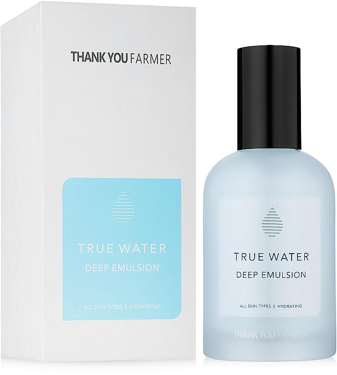 Emulsión facial reafirmante con extracto de bambú y ácido hialurónico - Thank You Farmer True Water Deep Emulsion
