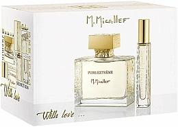 Perfumería y cosmética M. Micallef Pure Extreme With Love - Set (eau de parfum/100 ml + eau de parfum/10 ml)