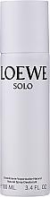 Perfumería y cosmética Loewe Solo Loewe - Desodorante spray