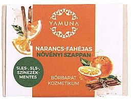 Perfumería y cosmética Jabón vegetal con aroma a naranja y canela - Yamuna Orange-Cinnamon Vegetable Soap