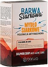 Perfumería y cosmética Jabón con azufre mineral antiacné y rosácea - Barwa Anti-Acne Sulfuric Soap