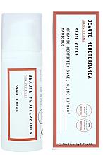 Perfumería y cosmética Crema corporal con extracto de baba de caracol orgánica y caléndula - Beaute Mediterranea Snail Cream