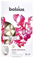 Perfumería y cosmética Cera aromática, rosa y ámbar - Bolsius True Moods Pure Romance Rose & Amber
