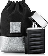 Perfumería y cosmética Bolso cosmético, negro (15x10x6cm) - MakeUp Perfume Dress (vacío)
