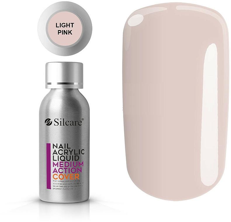 Acrílico líquido para uñas - Silcare Nail Acrylic Liquid Medium Action Cover