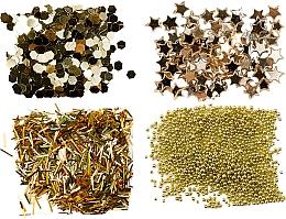 Perfumería y cosmética Kit decoración de uñas - Peggy Sage Nail Glitter Mini Kit Or