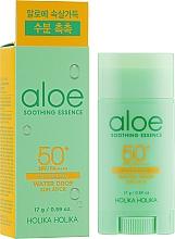 Perfumería y cosmética Stick protector solar facial y corporal con extracto de áloe - Holika Holika Aloe Soothing Essence Water Drop Sun Stick SPF50+