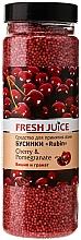 Perfumería y cosmética Perlas de baño con cereza & granada - Fresh Juice Bath Bijou Rubin Cherry and Pomergranate