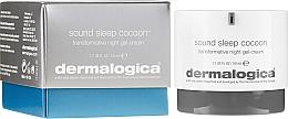 Perfumería y cosmética Crema gel facial de noche con aceite esencial de lavanda y extracto de árbol de seda - Dermalogica Sound Sleep Cocoon