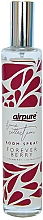 Perfumería y cosmética Ambientador en spray, fresa - Airpure Room Spray Home Collection Forever Berry