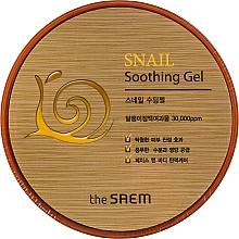 Perfumería y cosmética Gel para rostro y cuerpo con baba de caracol y extracto de menta - The Saem Snail Soothing Gel