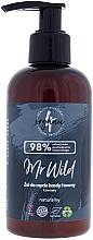 Perfumería y cosmética Gel para lavado de rostro y barba con aroma a café - 4Organic Mr Wild Coffee