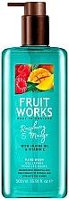 Perfumería y cosmética Jabón líquido, frambuesa & mango - Grace Cole Fruit Works Hand Wash Raspberry & Mango