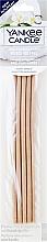 Perfumería y cosmética Varitas aromáticas - Yankee Candle Fluffy Towels Pre-Fragranced Reed Refill