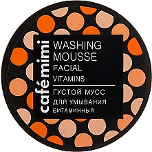 Perfumería y cosmética Mousse limpiador facial con Vitamina B, C y E - Cafe Mimi Washing Mousse Facial Vitaminc