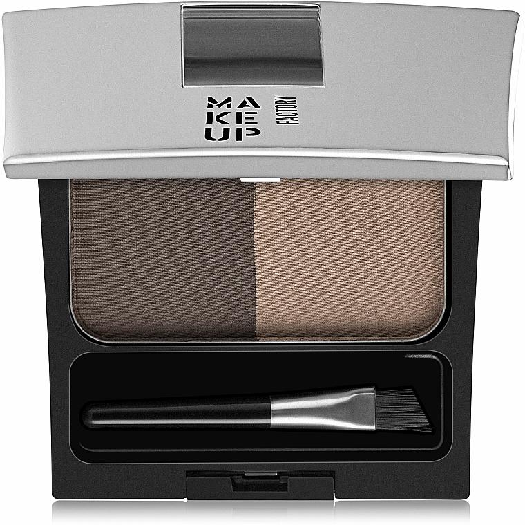 Polvo compacto para cejas - Make Up Factory Eye Brow Powder — imagen N1