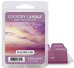 Perfumería y cosmética Cera para lámpara aromática con fragancia floral y dulce - Country Candle Daydreams Wax Melts