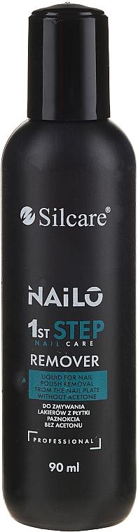 Quitaesmalte de uñas sin acetona - Silcare Nailo