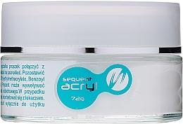 Perfumería y cosmética Polvo acrílico para uñas, 72g - Silcare Sequent Acryl Pro