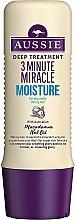 Perfumería y cosmética Acondicionador hidratante con aceite de macadamia australiano - Aussie 3 Minute Miracle Moisture Deep Treatment