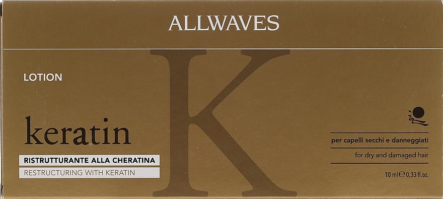 Ampollas para cabello con queratina - Allwaves Reconstructuring Keratin Lotion