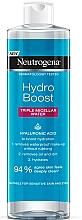 Perfumería y cosmética Agua micelar con ácido hialurónico - Neutrogena Hydro Boost Triple Micellar Water