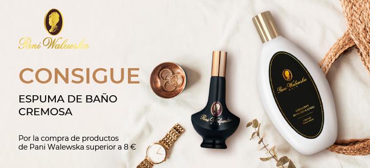 Recibe espuma de baño cremosa de regalo por la compra de productos de la marca Pani Walewska superior a 8 €
