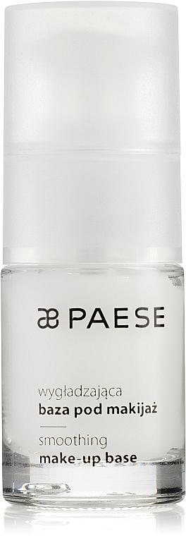 Prebase alisante y matificante rica en vitamina E y ácidos Omega 7 - Paese Make-Up Base