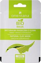 Perfumería y cosmética Mascarilla facial a base de arcilla natural con extracto de jengibre y limoncillo - Orientana