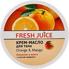 Perfumería y cosmética Manteca corporal con naranja & mango - Fresh Juice Orange & Mango