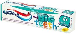 Perfumería y cosmética Pasta dental protectora contra los ácidos del azúcar, con fluoruro, sabor ligero a menta - Aquafresh Junior, my big teeth