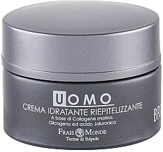 Perfumería y cosmética Crema facial a base de colágeno marino y ácido hialurónico - Frais Monde Men Brutia Repairing Moisturizing Cream