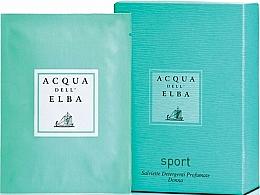 Perfumería y cosmética Acqua Dell Elba Sport - Toallitas húmedas perfumadas