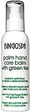 Perfumería y cosmética Bálsamo para manos con té verde - BingoSpa Palm Balm For Hands With Green Tea
