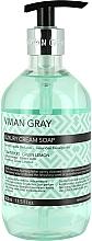 Perfumería y cosmética Jabón de manos líquido con aroma a pomelo y limón - Vivian Gray Luxury Cream Soap Grapefruit & Green Lemon