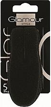 Perfumería y cosmética Pinza para peinados, negra - Glamour
