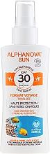 Perfumería y cosmética Spray protector solar formato viaje - Alphanova Sun Bio SPF30 Spray Voyage