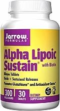 Perfumería y cosmética Complemento alimenticio en cápsulas alfa lipoico con biotina - Jarrow Formulas Alpha Lipoic Sustain with Biotin 300 mg